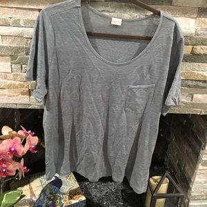 Poetry gray tee